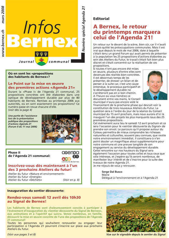 Bernex-2008-Journal-Commmunal-Special