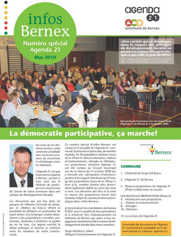 Bernex-2010-Journal-Commmunal-Special