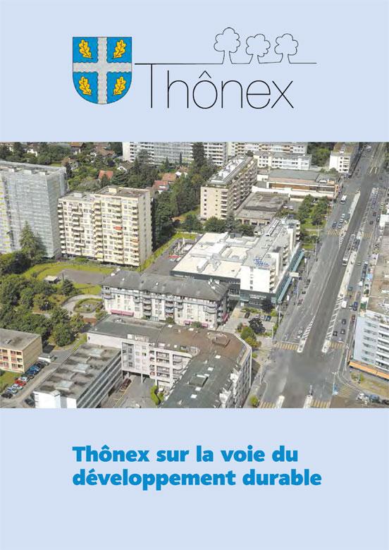 Thônex sur la voie du développement durable-couv